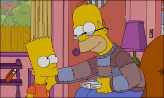 Homer and Bart