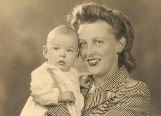 Mum & James