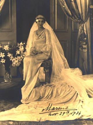 Princess Marina wedding